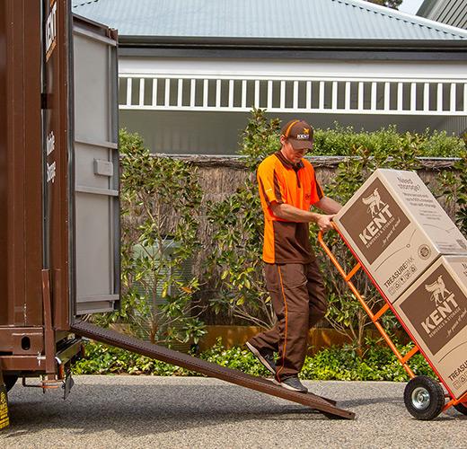 Kent Storage Loading Storage Container
