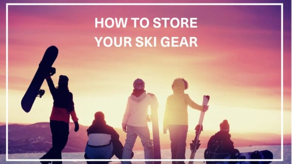 How to store your ski gear